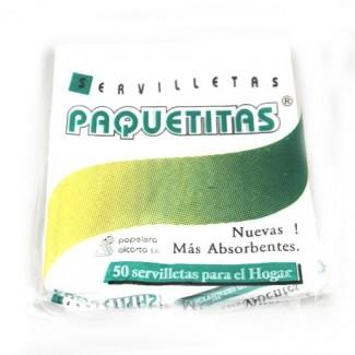 SERVILLETAS BLANCAS 33X33 PX50 XPAQ