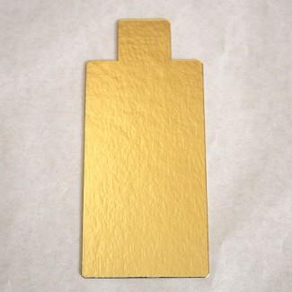 RECTANGULO C/PESTA¥A ORO 12X65 C/U