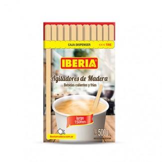 REVOLVEDORES P/CAFE DE MADERA X 500 UNID,