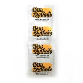"""BOLSA """"PAN RALLADO"""" 1/4KG. P X 100"""