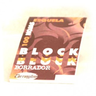 BLOCK BORRADOR DIARIO ESQUELA 100