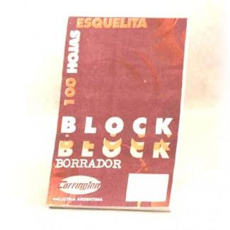 BLOCK BORRADOR DIARIO ESQUELITA 100