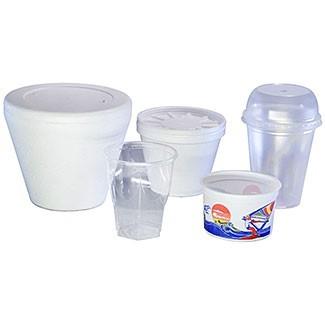 Potes para helados térmicos y plásticos