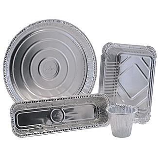 Bandejas de aluminio