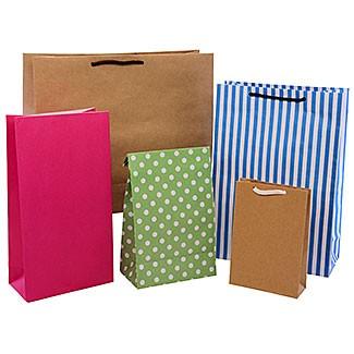 Bolsas de papel con cordon